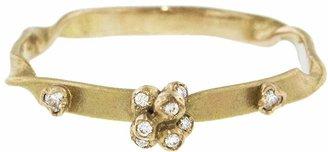 Kataoka Floral Diamond Cluster Ring