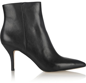 MICHAEL Michael Kors Harrison leather ankle boots