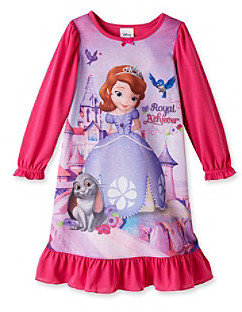 Disney Princess® Girls' 2T-4T Pink Royal Achiever Sleep Gown