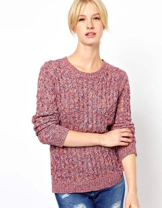 Jaeger Boutique by Spacedye Waffle Knit in Cotton