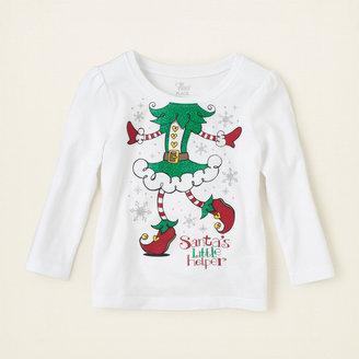 Children's Place Elf graphic tee