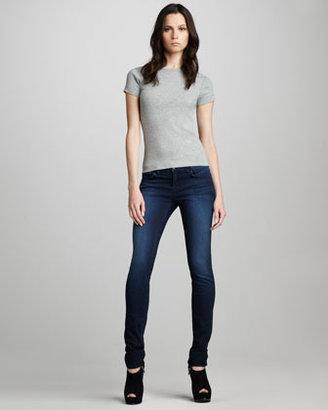 J Brand Jeans 910 Avalon Low-Rise Skinny Jeans