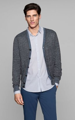 Theory Goldsmith CP Cardigan in Orb Linen Blend