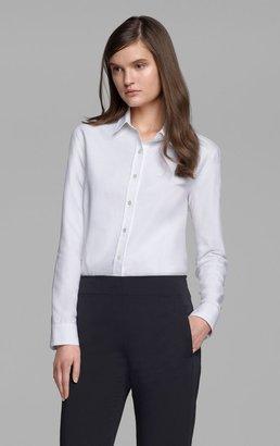 Theory Tritta Shirt in Eland Cotton