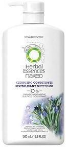 Herbal Essences Naked Moisturizing Cleansing Conditioner with Pump, Mint Fusion