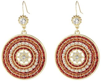 Jessica Simpson Twist and Tied Drop Earrings