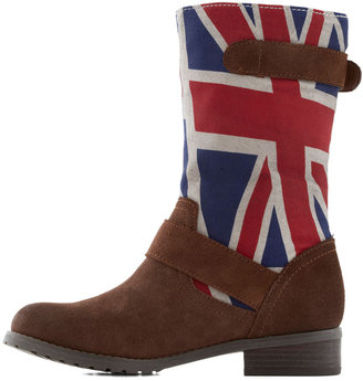 BC Footwear Sojourn Soon Boot in Union Jack