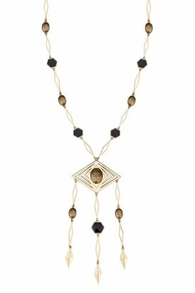 House Of Harlow Diamond Necklace in Gold