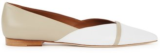 Malone Souliers Colette 10 Two-tone Leather Flats