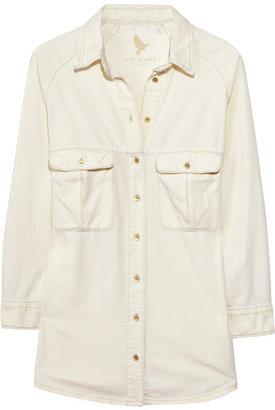 MiH Jeans Safari chambray shirt