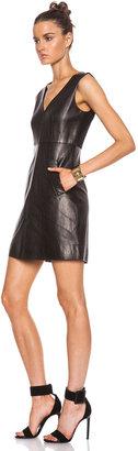 Diane von Furstenberg Halle Leather Dress