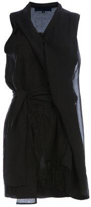 Sharon Wauchob silk draped dress