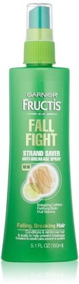 Garnier Fructis Fall Fight Strand Saver Anti-Breakage Spray Treatment for Falling Breaking Hair, 5.1 Fluid Ounce $5.95 thestylecure.com