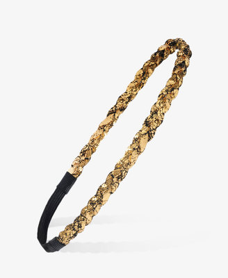 Forever 21 Crackled Metallic Headband