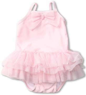 Kate Mack Baby Ballerina Solid Tank Swimsuit (Infant) (Pink) - Apparel