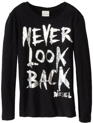 Diesel Boys 8-20 Tefisty Reflective Never Look Back Long Sleeve T-Shirt