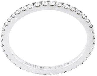 Wouters & Hendrix Gold Full Diamond Ring