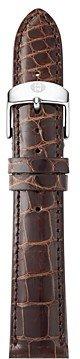 Michele Alligator Watch Strap, 16-20mm