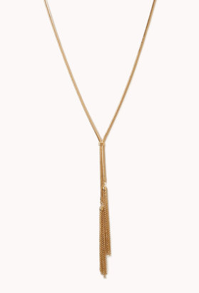 Forever 21 Chic Lariat Necklace