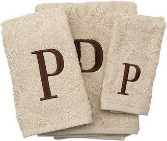 Avanti Premier Monogram Towel Set - Letter P