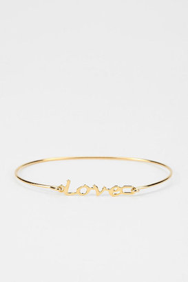 A.V. Max Wire Word Bracelet