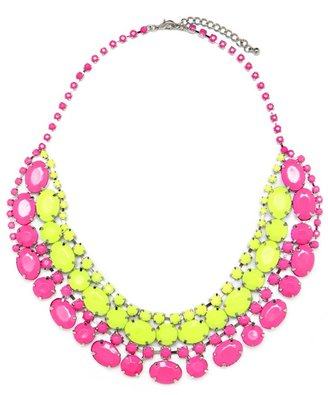 BaubleBar Neon Colorblock Collar (Delivery: Late April 2012)