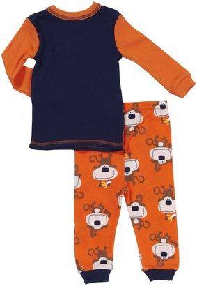 Gerber 4 Piece Cotton PJs (Baby) - Monkeys-12 Months