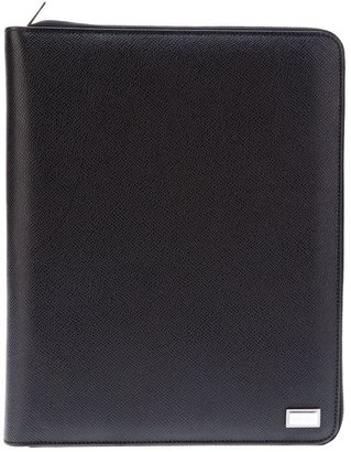 Dolce & Gabbana leather note pad case