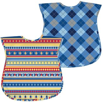 I play. Green Sprouts by i play. 2-pk. Argyle & Striped Waterproof Bibs - Baby $22 thestylecure.com