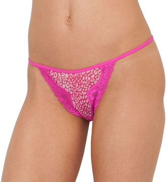 Candies Candie's ® mesh v-string thong