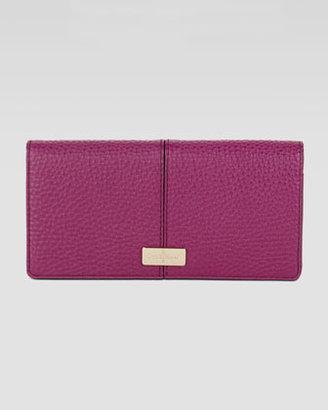 Cole Haan Village Slim Leather Wallet, Winery