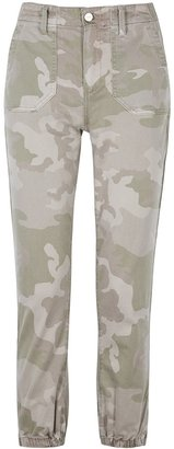 Paige Mayslie Camouflage-print Trousers