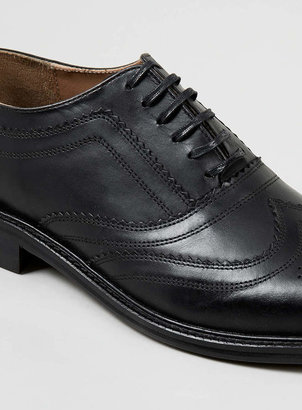 Fischer House of Hounds Black Oxford Shoes