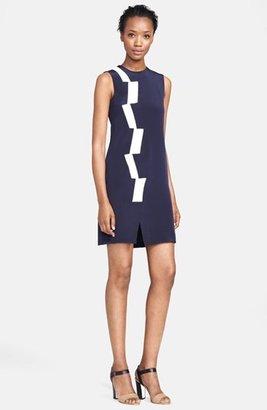 Thakoon Basket Weave Panel Dress