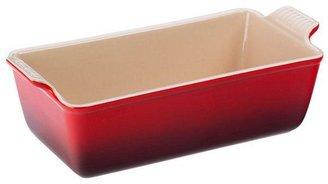 Le Creuset 9-in. glazed enamel Heritage Loaf Pan, Cherry