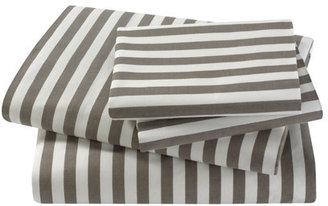 DwellStudio Draper Stripe Ash Sheet Set