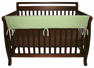 """Trend Lab 51"""" Fleece Front Rail Cover for Convertible Cribs - Sage"""