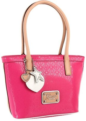 GUESS Airun Small Carryall (Pink) - Bags and Luggage