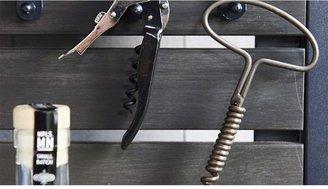Crate & Barrel Pulltex ® Waiter's White Corkscrew