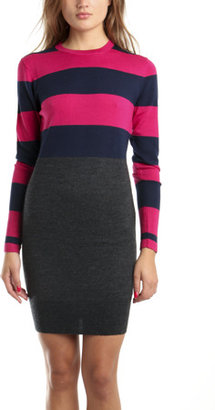Markus Lupfer Trinity Stripe Dress