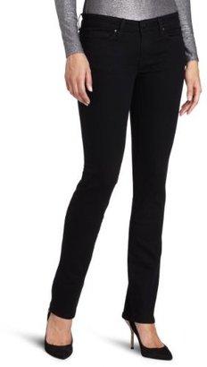 Calvin Klein Jeans Women's Petite Power Stretch straight Leg Jean