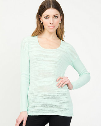 Le Château Textured Knit Sweater
