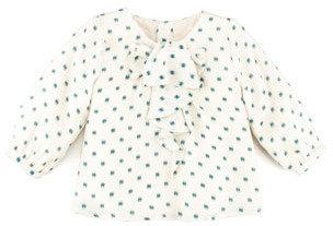 Chloé Printed Silk Blouse, 3-18 Months