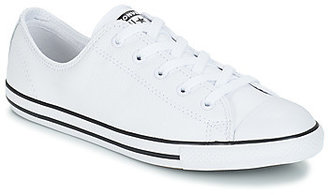 Converse DAINTY OX women's Shoes (Trainers) in White