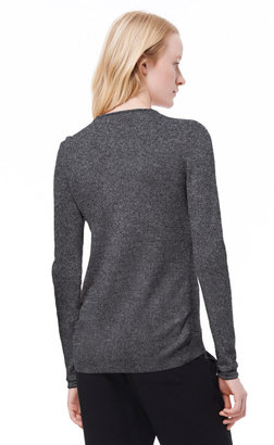 Rebecca Taylor Pullover with Embellished Neckline