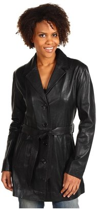 Scully Lambskin Jacket (Black Lamb) - Apparel