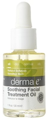 Derma E Soothing Facial Treatment Oil with Argan and Kukui Oils