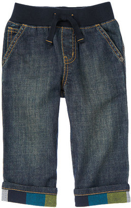Gymboree Flannel Cuffed Pull-On Jean