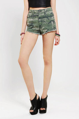 BDG Dree Patterned High-Rise Cheeky Short