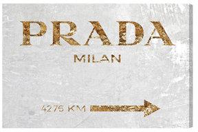 Milan Gold White Velvet